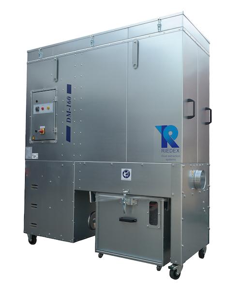 Riedex afzuigunit binnenopstelling DM-160